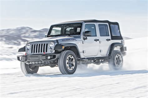 2016 Jeep Wrangler Unlimited Rubicon First Test Review