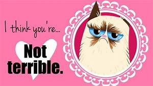 Grumpy Valentine's Day cards from Grumpy Cat You're not ...