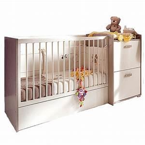Lit bebe lilou for Décoration chambre adulte avec matelas lit evolutif lilou alinea