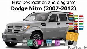 Fuse Box Location And Diagrams  Dodge Nitro  2007