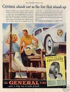 17 Best images about Vintage General Tire Ads on Pinterest ...