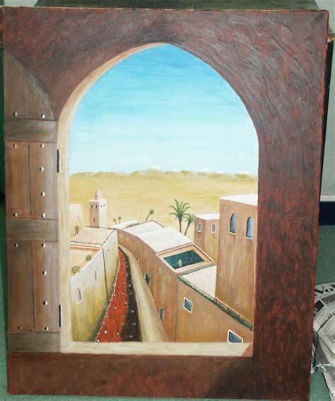 peinture tableau trompe l oeil 4