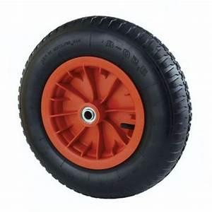 Roue De Brouette Avec Axe : roue gonflable 39 cm pour brouette axe 25mm chariots et ~ Melissatoandfro.com Idées de Décoration