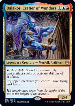 dalakos crafter  wonders  theros  death spoiler
