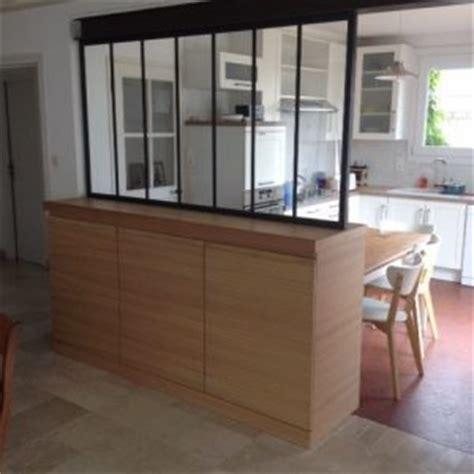 meuble bar separation cuisine meuble verriere separation cuisine salon cna décobois