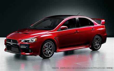 Mitsubishi Reveals Japan-only Lancer Evolution X Final Edition