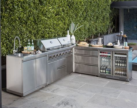 outdoor kitchen cabinets stainless steel stainless steel outdoor kitchens graysonline 7233