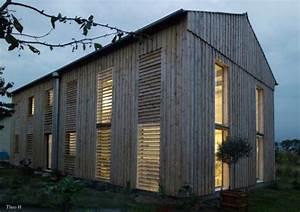 Renovation Hangar En Habitation : architecture bois ~ Nature-et-papiers.com Idées de Décoration