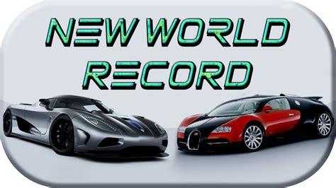 La bugatti veyron, c'est un peu le maître étalon auquel les voitures de série les plus rapides de la planète ou les bolides lourdement préparés fraîchement terminés se doivent d'être comparés. Koenigsegg Agera RS Fastest production car in the world VS ...