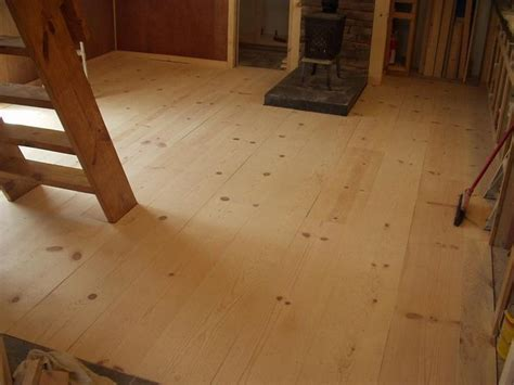 rustic wood floor l considering a cheap rustic wood floor white pine 1x12