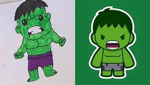 BABY HULK DRAWING!!! - YouTube