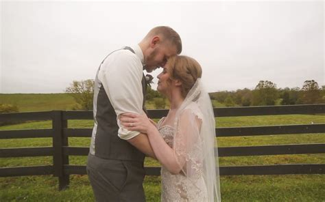 bluegrass wedding barn goldie christie photography reel special