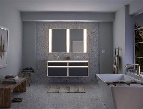 Robern Vanities by Robern Introduces Lighted Bathroom Collection
