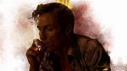 Detective True Wallpapers Tv Matthew Mcconaughey Smoking