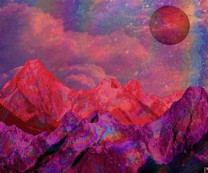 Trippy Psychedelic Space Aesthetic Gifs Google Mountain