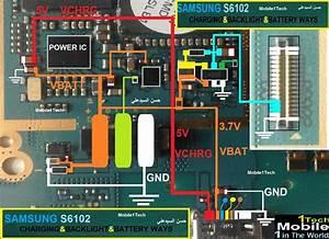 Samsung S6102 Backlight U0026charging Ways