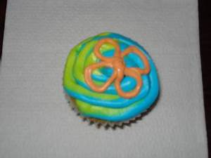 C & B Creations Mystery Machine Cupcakes