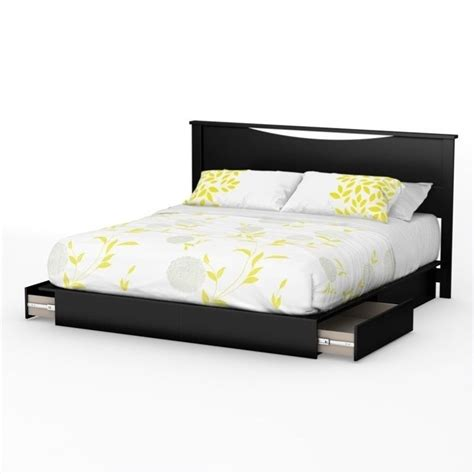 1854 south shore platform bed south shore step one king platform bed with headboard and