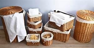Panier à Linge Gifi : panier en osier ravissant accessoire westwing ~ Dailycaller-alerts.com Idées de Décoration