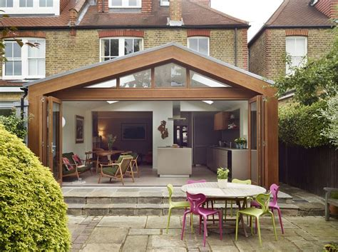 nice mix  modern  traditional extension   semi detached property www