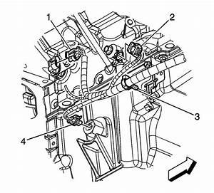 Were Is The Knock Sensor On A 2007 Chevy Silverado 4x4