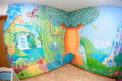 si鑒e de mural murales infantiles para dormitorios de niños y niñas 20 ideas y fotos brico y deco
