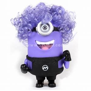 The Minions DESPICABLE ME 2 Purple Color 3D Eyes with ...