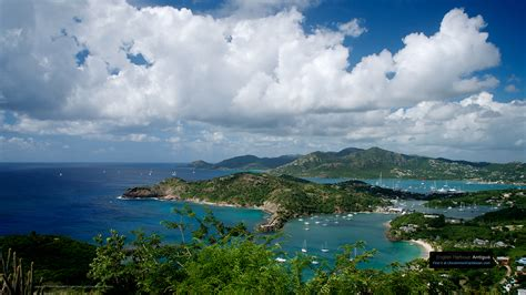caribbean wallpaper wednesday english harbour antigua