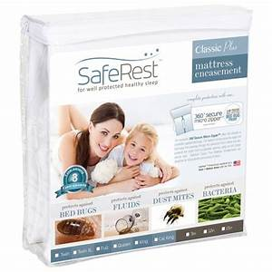 king size saferest classic waterproof lab certified bed With certified bed bug mattress encasement