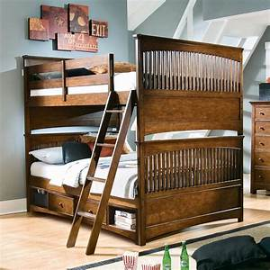 Classic Full Over Full Bunk Beds — MYGREENATL Bunk Beds