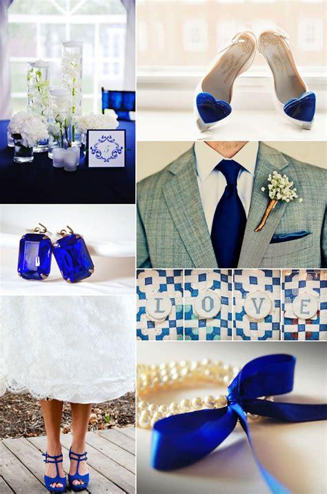 royal blue gold wedding fish bowl table centre