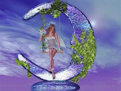 Fairy Fairies Backgrounds Wallpapers Fantasy Screensavers Angels