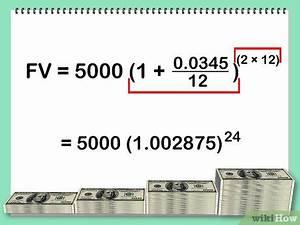 Zinseszins Zinssatz Berechnen : den zinseszins berechnen wikihow ~ Themetempest.com Abrechnung