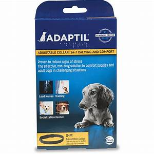 upc 899484001685 adaptil adjustable calming dog collar With comfort zone dog collar