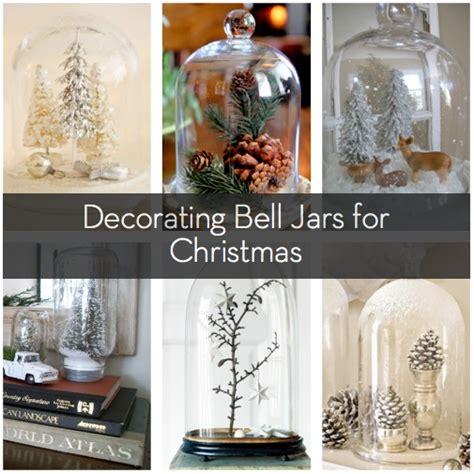 ways  decorate  bell jar  christmas curbly
