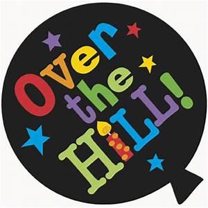 Over The Hill Mini Decoration Cutouts 8ct