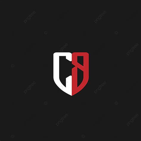 initial letter cb logo design template     pngtree
