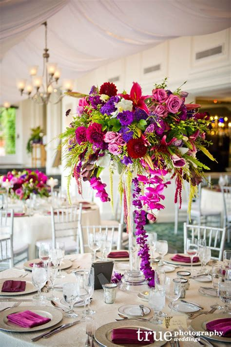 Bold Colors Beautiful Wedding Centerpiece This Shows