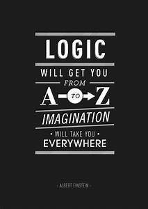 Inspirational Typography Posters: Quotes Einstein, Jobs ...