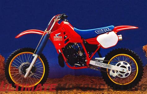ama motocross history 1986 honda cr250r giveaway ama chionship banquet