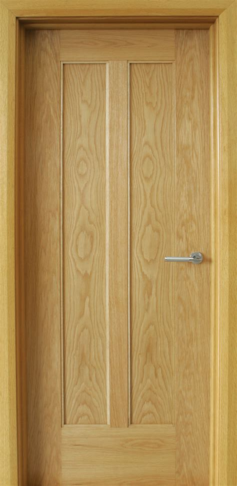 Oak Doors by Shaker 2 Panel White Oak Door 40mm Doors