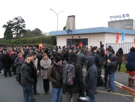 thales siege appel à débrayage 19 février 2015 coordination cgt thales