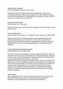 Resume for freight forwarding company resume ideas for Resume for freight forwarding company