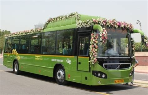 volvo buses india begins trials    natural gas