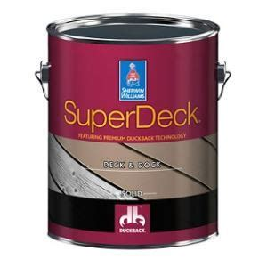 superdeck exterior deck dock coating  sherwin