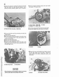 1985 Kawasaki Kx60 Motorcycle Owners Service Manual