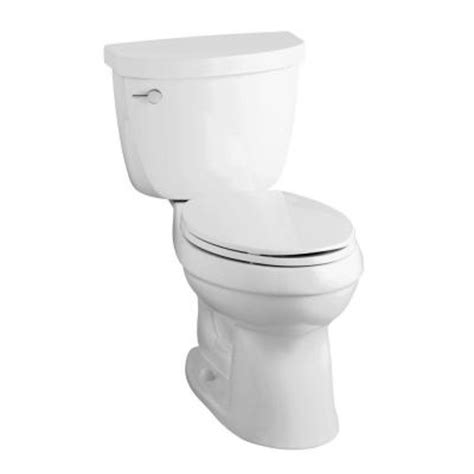 Kohler Bathroom Commodes by Kohler Cimarron Comfort Height 2 1 6 Gpf Elongated