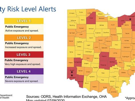 Updated COVID-19 risk map released for Ohio | News Break