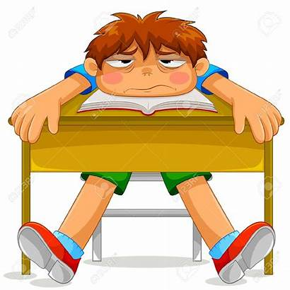 Student Clipart Sleepy Tired Clip Sitting Clipground