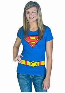 Women's Supergirl Costume T-Shirt
